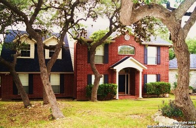 San Antonio Single Family Home New: 8607 Waldon Heights