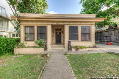 San Antonio Single Family Home New: 627 W French Pl