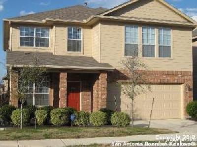 San Antonio Single Family Home New: 12219 Eden Mill