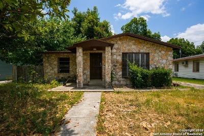 San Antonio Single Family Home New: 346 Hub Ave