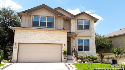 San Antonio Single Family Home New: 1423 Dancing Wolf