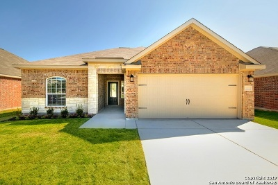 Bexar County Single Family Home New: 7803 Creekshore Cv