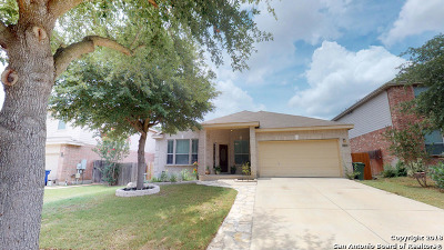 Cibolo Single Family Home New: 136 Phantom Creek
