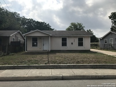 San Antonio TX Single Family Home New: $57,000