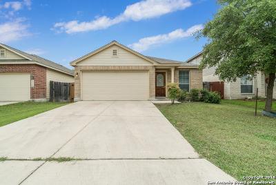 Converse Single Family Home New: 3322 Alonzo Fields