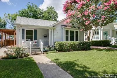 Alamo Heights Single Family Home New: 370 Blue Bonnet Blvd