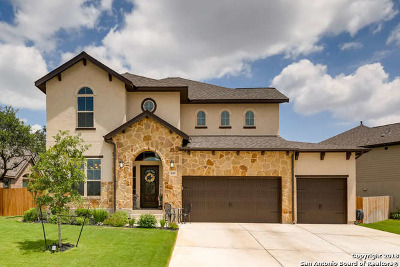 Boerne Single Family Home New: 138 Cimarron Creek