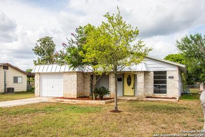 Schertz Single Family Home Back on Market: 423 River Rd