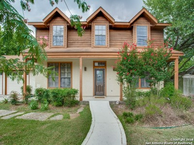 Boerne Single Family Home New: 110 Park Pl