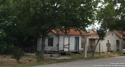 San Antonio Single Family Home For Sale: 607 S Comal