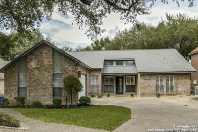 San Antonio Single Family Home New: 15418 Pebble Gate