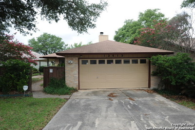 San Antonio Single Family Home New: 13415 Pebble Hollow