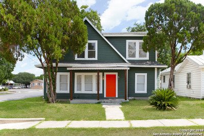 San Antonio Single Family Home New: 703 Avant Ave