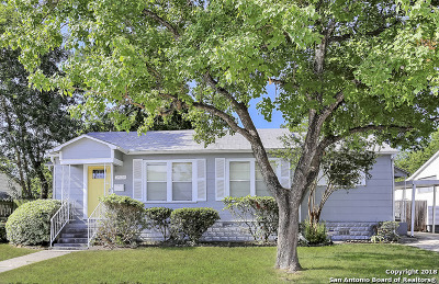 San Antonio Single Family Home New: 2526 W Mulberry Ave