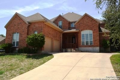 San Antonio Single Family Home For Sale: 26003 Torena Loop