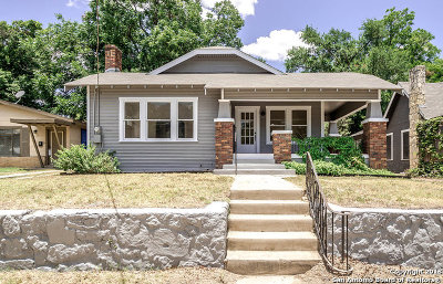 San Antonio Single Family Home New: 531 E Huisache Ave