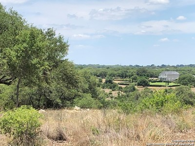 Comal County Residential Lots & Land For Sale: 1075 (Lot 1464) Via Principale