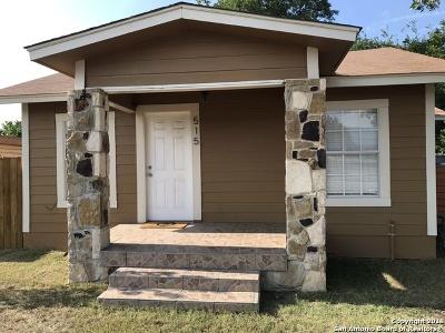San Antonio Single Family Home Price Change: 515 Price Ave