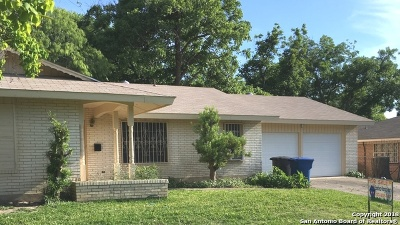 San Antonio Single Family Home Active Option: 2526 Hiawatha