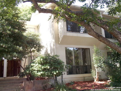 Alamo Heights Single Family Home For Sale: 113 Montclair St