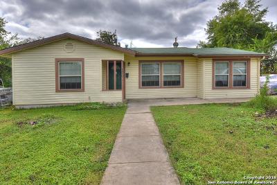 San Antonio TX Single Family Home Price Change: $134,999