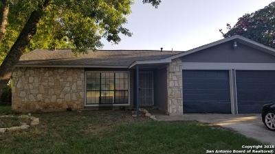 San Antonio Single Family Home Back on Market: 1223 Boling Brook St