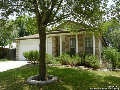 San Antonio Single Family Home Back on Market: 21402 Encino Lookout