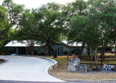 New Braunfels Single Family Home For Sale: 611 Wild Turkey Run