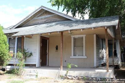 Single Family Home For Sale: 339 E Southcross Blvd