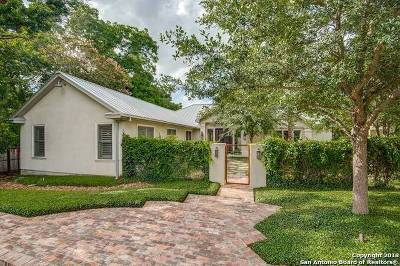 Terrell Hills Single Family Home For Sale: 127 Charles Rd