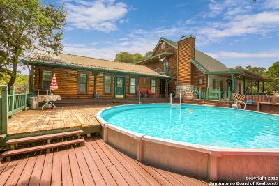 Canyon Lake Single Family Home Active Option: 3085 E Lakeshore Dr