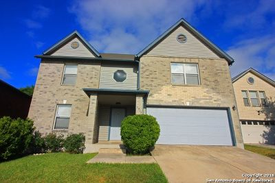 Converse Single Family Home For Sale: 7315 Belmede Ct