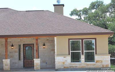 Canyon Lake Single Family Home Active Option: 1132 Long Hollow