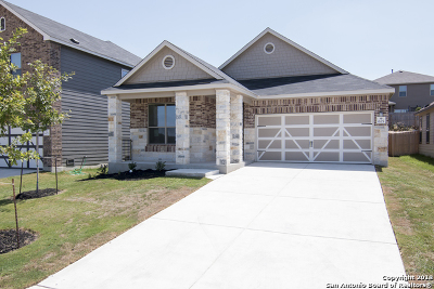 New Braunfels Single Family Home Active Option: 675 Anthem