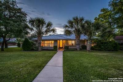 Terrell Hills Single Family Home For Sale: 801 Elizabeth Rd