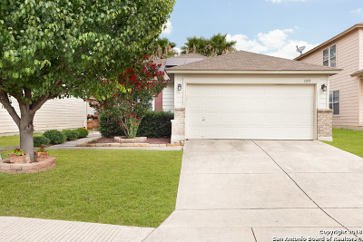 San Antonio Single Family Home Back on Market: 1215 Range Field