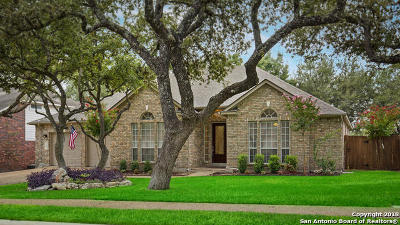 San Antonio Single Family Home Price Change: 18023 Keystone Bluff