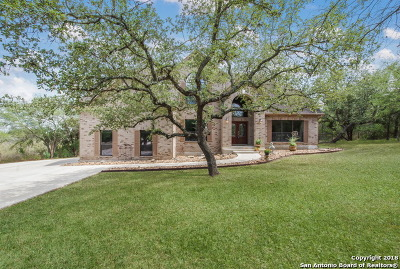 San Antonio Single Family Home Active Option: 22309 Old Fossil Rd
