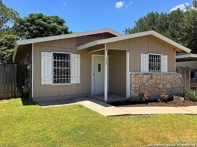 San Antonio Single Family Home Back on Market: 515 Valley Park Dr