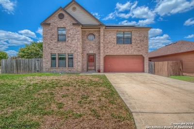 Helotes Single Family Home Price Change: 9523 Diamond Cliff Dr