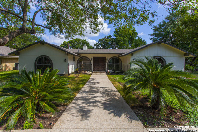 Windcrest Single Family Home For Sale: 6023 Windhaven Dr