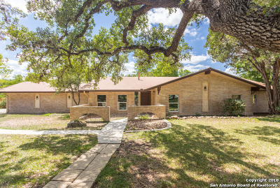 Bexar County Single Family Home Back on Market: 93 Mossy Cup St
