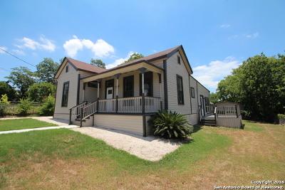 Single Family Home For Sale: 1112 E Crockett St