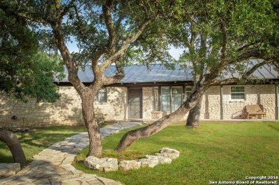 Boerne Single Family Home Price Change: 110 Shane Ln
