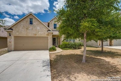 Cibolo Single Family Home Active Option: 143 Brook Stone