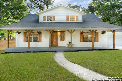 Boerne Single Family Home Back on Market: 106 View Point Dr W