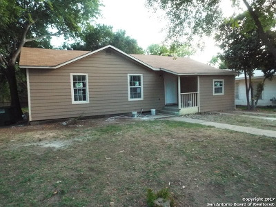 San Antonio Single Family Home Back on Market: 210 Conway Dr