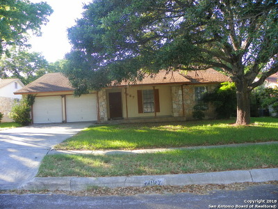 Bexar County, Comal County, Guadalupe County Single Family Home Back on Market: 7827 Dove Flight St