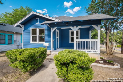 San Antonio Single Family Home For Sale: 802 Aganier Ave