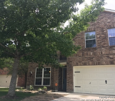 San Antonio Single Family Home Price Change: 26607 Sparrow Rdg